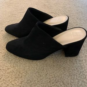 Shoes - M&S slip on heeled mules size 6.5 worn once